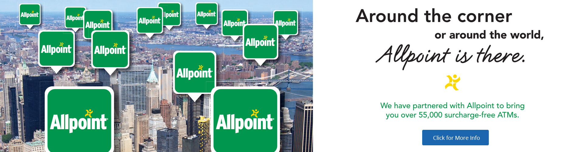 Allpoint is here - ATM