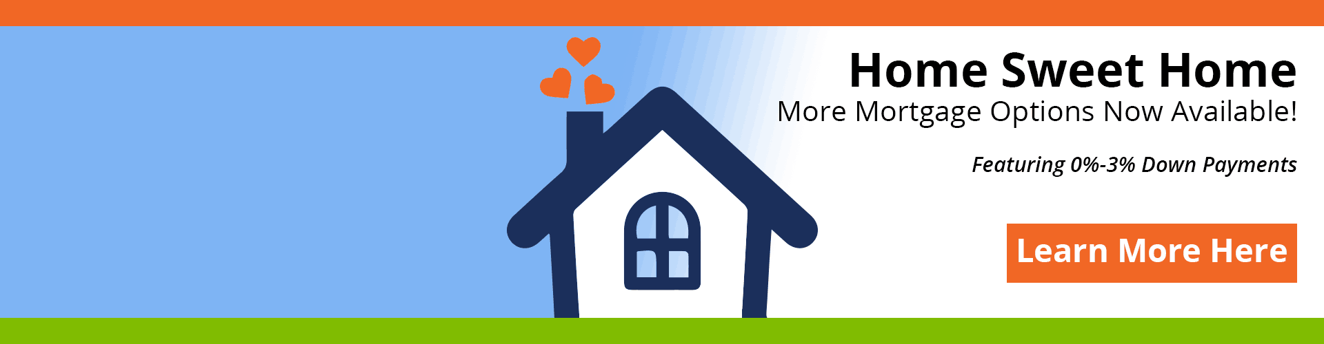 Home Sweet Home - Mortgage Banner
